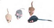 [Gato] Nobby Juguete Ratón Con Sonido